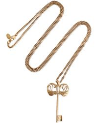Alexander McQueen - Gold-tone Necklace - Lyst
