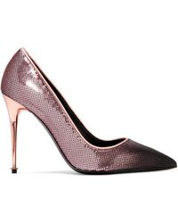 Tom Ford - Dégradé Sequined Leather Court Shoes - Lyst