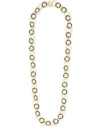 Buccellati - Hawaii 18-karat Gold Onyx Necklace - Lyst