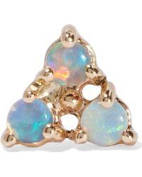 Wwake | 14-karat Gold Opal Earring | Lyst