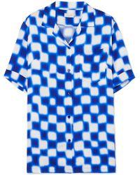 Dries Van Noten - Printed Crepe De Chine Shirt - Lyst