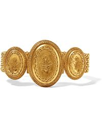 Fred Leighton | 1880s 18-karat Gold Bracelet | Lyst