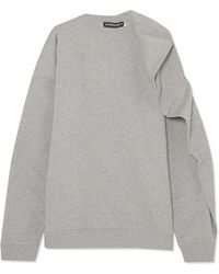 Y. Project | Oversized Cotton-terry Sweatshirt | Lyst