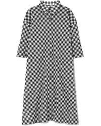 McQ Alexander McQueen | Gingham Cotton-voile Dress | Lyst