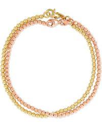 Carolina Bucci - Set Of Two 18-karat Gold Bracelets - Lyst
