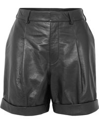Philosophy Di Lorenzo Serafini - Leather Shorts - Lyst