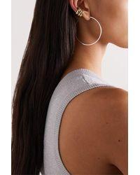 Jennifer Fisher Set Of Three Gold-plated Ear Cuffs - Metallic