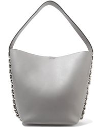 Givenchy - Infinity Chain-trimmed Leather Shoulder Bag - Lyst