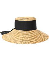 Eugenia Kim - Annabelle Grosgrain-trimmed Straw Hat - Lyst