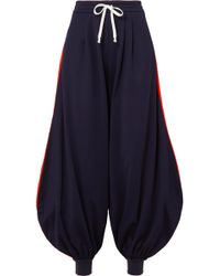 Gucci - Striped Jersey Track Trousers - Lyst
