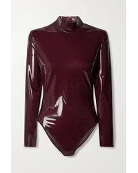 Saint Laurent Body Aus Latex - Mehrfarbig