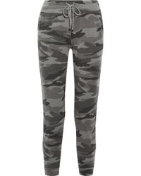 Splendid | Camouflage-print Terry Track Trousers | Lyst