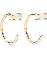 Melissa Joy Manning - 14-karat Gold Opal Earrings Gold One Size - Lyst