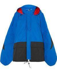 Junya Watanabe - Oversized Color-block Shell Jacket - Lyst