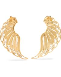 Mallarino - Violetta Gold Vermeil Earrings - Lyst