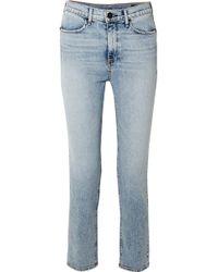 Rag & Bone - Cigarette High-rise Slim-leg Jeans - Lyst