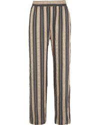 Hanro - Enola Striped Woven Pants - Lyst