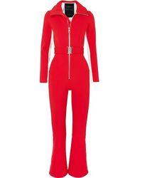 CORDOVA Striped Ski Suit - Red