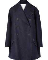 CALVIN KLEIN 205W39NYC - Double-breasted Wool-felt Coat - Lyst