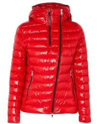 Moncler - Hooded Quilted Glossed-shell Down Jacket - Lyst