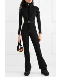 CORDOVA Striped Ski Suit - Black