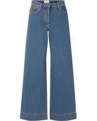 The Row - Anat High-rise Wide-leg Jeans - Lyst