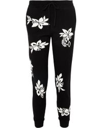 Chinti & Parker - Hibiscus Cashmere Track Pants - Lyst