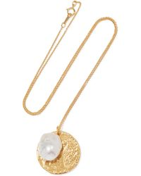 Alighieri - The Remedy Chapter Ii Gold-plated Pearl Necklace - Lyst