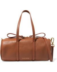 Mansur Gavriel - Duffle Mini Leather Shoulder Bag - Lyst