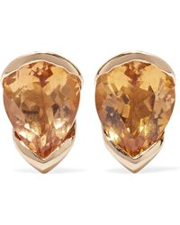 Fernando Jorge | Bloom 18-karat Gold, Topaz And Diamond Earrings | Lyst
