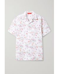 Commission Floral-print Woven Shirt - White