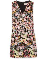 Peter Pilotto - Floral-print Dress - Lyst