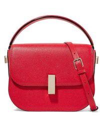 Valextra Iside Textured-leather Shoulder Bag