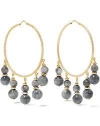 Carolina Bucci - Recharmed 18-karat Gold Agate Hoop Earrings - Lyst