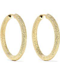 Carolina Bucci - 18-karat Gold Hoop Earrings - Lyst