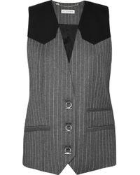 Altuzarra - Walace Pinstriped Wool-blend Vest - Lyst