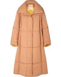 ROKSANDA - Maera Oversized Quilted Cotton-canvas Coat - Lyst