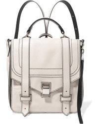 Proenza Schouler - Ps1 Textured-leather Backpack - Lyst