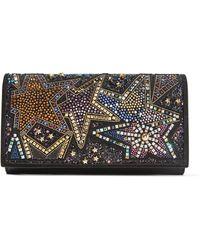 Christian Louboutin - Boudoir Embellished Textured-leather Shoulder Bag - Lyst