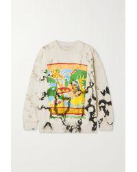 Stella McCartney + Greenpeace Printed Organic Cotton-jersey Sweatshirt - Natural