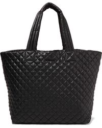 MZ Wallace - Metro Quilted Shell Tote - Lyst