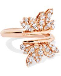 Stephen Webster - + Hearts On Fire 18-karat Rose Gold Diamond Ring - Lyst