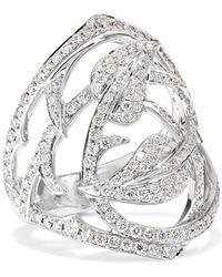 Stephen Webster - 18-karat White Gold Diamond Ring - Lyst