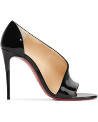 Christian Louboutin - Phoebe 100 Patent-leather Pumps - Lyst