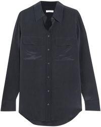 Equipment - Signature Washed-silk Shirt - Lyst