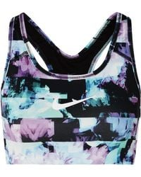 Nike - Ice Flash Pro Classic Printed Dri-fit Stretch Sports Bra - Lyst