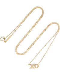Jennifer Meyer - Xo 18-karat Gold Necklace - Lyst