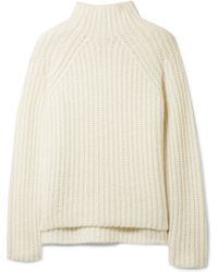 Theory - Rifonia Chunky-knit Wool-blend Turtleneck Jumper - Lyst