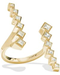 Melissa Kaye - Margo 18-karat Gold Diamond Ring Gold 6 - Lyst