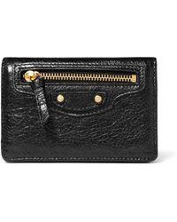 Balenciaga - Textured-leather Cardholder - Lyst